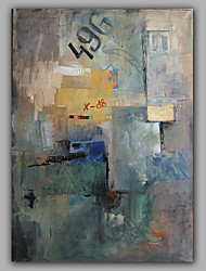 Stretched Abstract Paintings Acrylic Oil Design Whosale Price