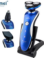 מכונת גילוח גברים פנים חשמלי / מכונת גילוח מסתובבת / אביזרי גילוחעמיד למים / גילוח רטוב / יבש / מחוון סוללה LCD / רעש נמוך / טעינה מהירה