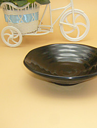 Japanese Type Best Quality Round Black  Melamine Plate Safe Dishes.