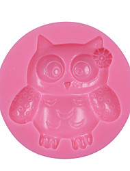 Ms. Owl DIY Silicone 3D Fondant Cake Mold Gum Paste Decoration Mold Cake Cooking Tools Cake Tool SM-076