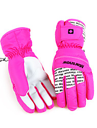 Ski-Handschuhe Winterhandschuhe / Handschuhe Damen Sporthandschuhewarm halten / Antirutsch / Wasserdicht / Winddicht / Schneedicht /