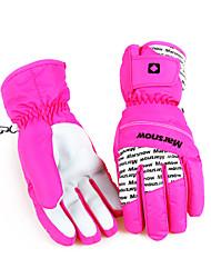 Ski Gloves Winter Gloves / Mittens Women's Activity/ Sports GlovesKeep Warm / Anti-skidding / Waterproof / Wearproof / Windproof /