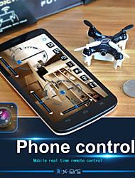 nano drone espía con FPV cámara wifi en tiempo real 2.4g 6axis 4 canales de transmisión&rtf control de teléfono inteligente