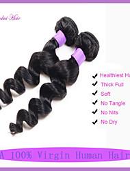 Brazilian virgin hair loose wave 3pcs/lot 100% unprocessed brazilian virgin hair Cheap Brazilian loose wave