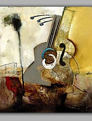 Still Life Guitar Painting for Living Room Decoration