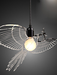 50cm Creative Modern Fashion Decoration Stainless Steel Bird Bird Droplight Lamp LED