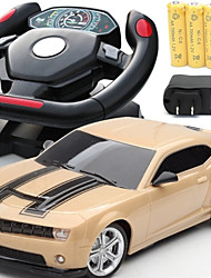 High Quality Steering Wheel Remote Control Car / Wireless Charging Toy Model / Radio Car  (Two Color)