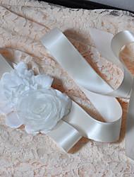 Cetim Casamento / Festa/Noite / Dia a Dia Faixa-Florais / Frufrus Feminino 98 ½polegadas(250cm) Florais / Frufrus