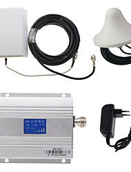 LCD Display 3G980 2100MHz Mobile Phone Signal Booster + Panel Antenna Kit