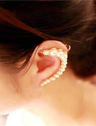 Stud Earrings Clip Earrings Ear Cuffs Pearl Imitation Pearl Alloy Jewelry Wedding Party Casual 1pc