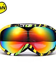 nandn 2016 lunettes de ski en plein air Lunettes coupe-vent des lunettes de ski de neige hommes motocross lunettes de lutte antiémeute