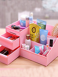 Women Makeup Case Plastic Drawer Household Category Storage Box Cosmetic Desktop