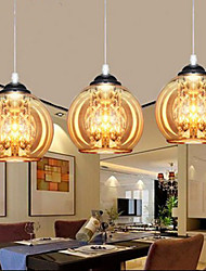 Glass Ball Pendant Lamp Three
