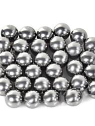 9mm Kohlenstoffstahl Schleuder Ball Silber 32 Stk