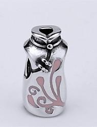 s925 grano del grano collar pulsera de plata esterlina para las pulseras de plata del encanto europeo de estilo chino