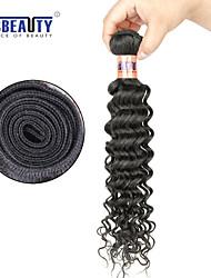 """1 pc / lot 12 """"-28"""" 8a brasilianisches reines Haar tiefe Welle Menschenhaareinschlagfäden 100% unverarbeitetes brasilianisches remy Haar"""