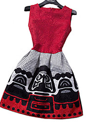 vestido de las mujeres, de impresión