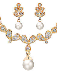 HUALUO@Pearl Jewelry Set Jewelry Set European Style