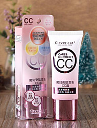New Clever Cat Makeup Concealer Convenient Moisturized BB Cream for Dating 1Pc 35ml