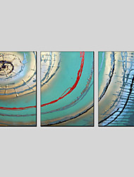 Stretched Canvas Oil Painting Abstract Decorative Pictures 50*70CM*3PCS