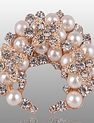New Arrival Fashion Jewelry High Quality Rhinestone Pearl Brooch
