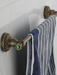 2016 Antique Bronze Towel Rail 60cm Pur Copper High quality Towel Rack