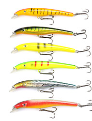 Mizugiwa Pike Fighter Fishing Lure Minnow Hard Plastic Baits Bait 30g 155mm pack of 6