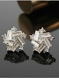 Alloy Earring Stud Earrings Wedding / Party / Casual 2pcs
