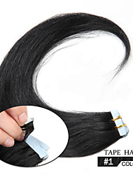 Remy Tape Hair Extension Remy Human Hair 16inch-24inch Tape In Skin Human Hair Extensions Hair Weft No Tangle No Shed