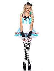 New!Women Halloween Alice In Wonderland Maid Costumes For Carnival,Women's French Maid Dionysia Costumes