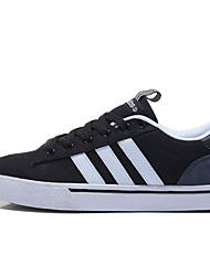 Men's Indoor Court Shoes Canvas Black and White