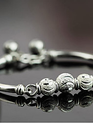 Femme Charmes pour Bracelets Bracelets Rigides bijoux de fantaisie Argent sterling Bijoux Pour Mariage Soirée Quotidien Décontracté