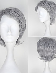 Cosplay Wigs Super Heroes Movie Cosplay Silver Solid Wig Halloween / Christmas / New Year Male