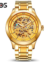 BOS Automatic Mechanical Watches Hollowing Watch Waterproof Luminous Mens Watch Wrist Watch Cool Watch Unique Watch