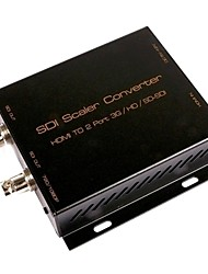 SDI Scaler Converter HDMI to 2 Port 3G/HD/SD-SDI Converter