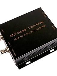 sdi scaler converter hdmi naar 2 poort 3G / HD / SD-SDI converter