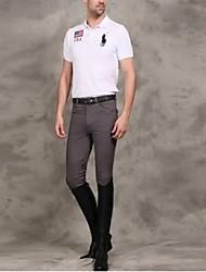 мужчины половиной кожаные бриджи галифе рыцаря профессиональные высокие упругие штаны