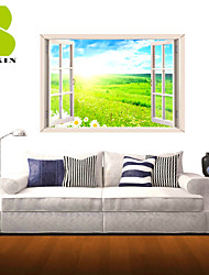 3D Wall Stickers Wall Decals, The Natural Landscape Decor Vinyl Wall Stickers