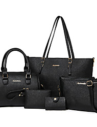 D.Jiani  Simple High-Capacity 5 Sets Of Diagonal Handbags