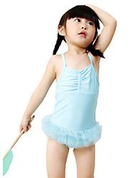 2-6Y Summer Children Girls One Piece Swimsuit Little Girls Swimwear Bathing Suit Kids Beachwear