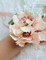 Wedding Flowers Free-form Peonies Wrist Corsages