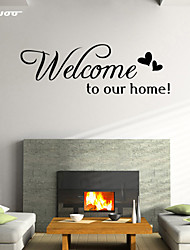 AWOO® Love Home  Wall Sticker DIY Home Decorations Quotes Vinyl Wall Decals Wall Mural Art