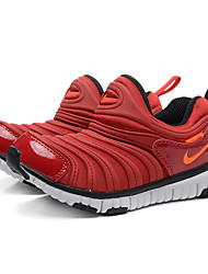 zapatillas Nike niños libres 'a zapatillas de deporte al aire libre de napa / deportivo / tul negro / azul / rojo / azul real