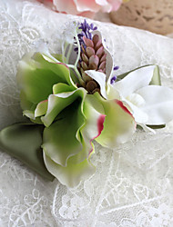 Wedding Flowers Elegant Free-form Peonies Boutonnieres