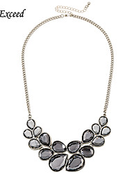 Necklace Vintage Necklaces Jewelry Wedding / Party / Daily / Casual Acrylic Silver 1pc Gift