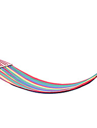 AT6736   American Rainbow Stripe Wooden Hammock