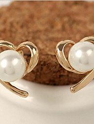 Lucky Doll Women's  Man Made Pearl Earring