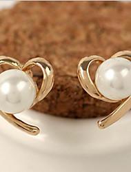 Lucky Doll Women's  Man Made Pearl Earring