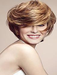Hottest   Women Lady Blonde Charming Short Bob Syntheic  Wig