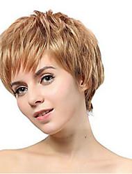 beau style courtes extensions de perruques synthétiques prix le moins cher couleur perruque blonde